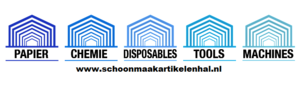 Logo schoonmaakartikelenhal